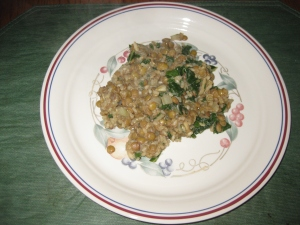 Lentils and Rice plus2