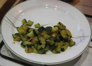 Zucchini and Horseradish Mishmash 3