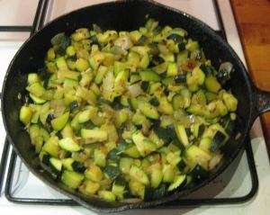 Zucchini and Horseradish Mishmash