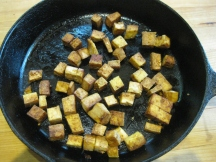 Tofu for pesto
