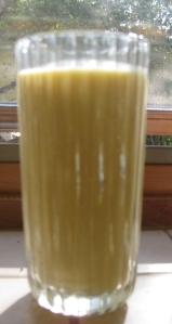 mango-banana shake